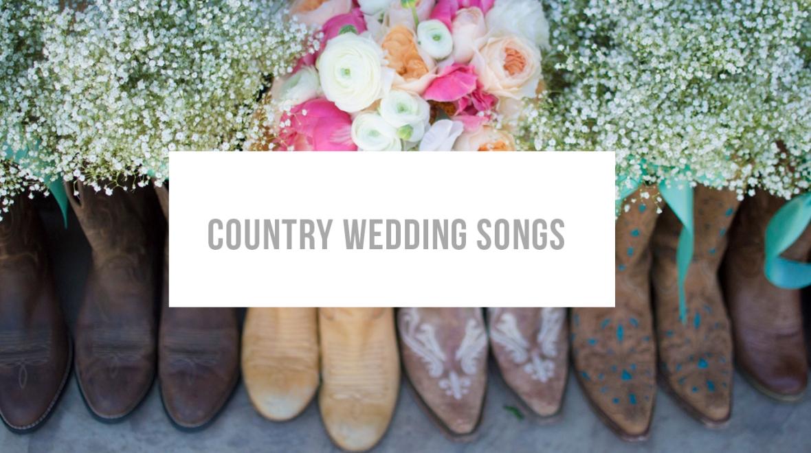 CountryWeddingSongs